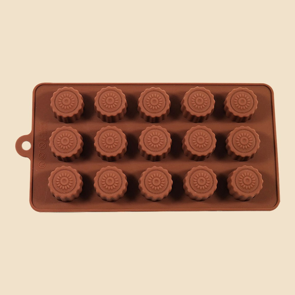 Caramel Cups Chocolate Mould