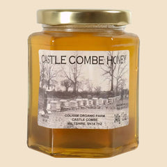 raw wiltshire honey from colham organic farm