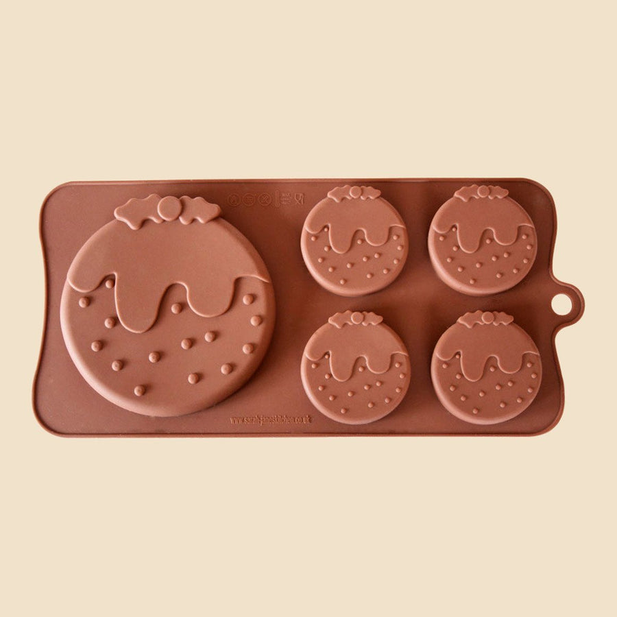 Christmas Pudding Chocolate Mould