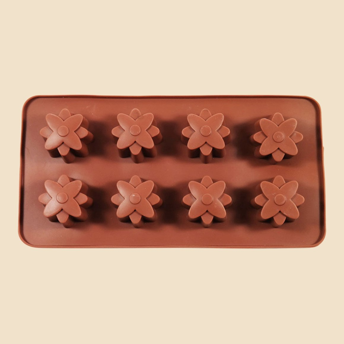Large Flowers Chocolate Mould