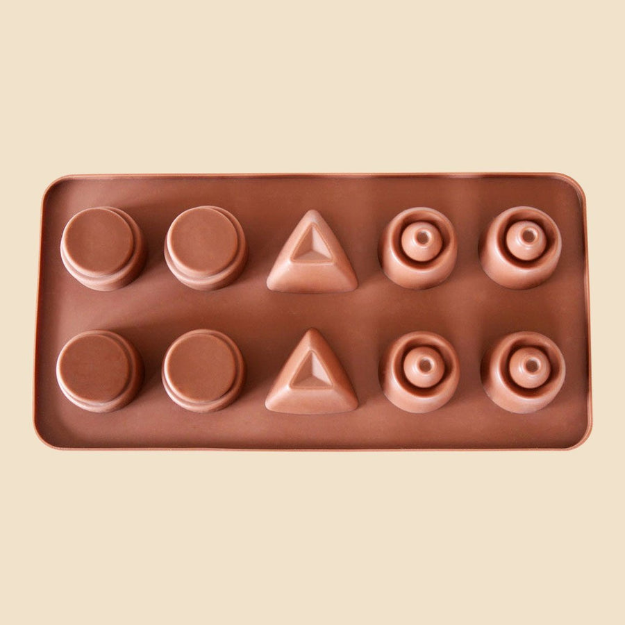 Contemporary Shapes Chocolate Mould