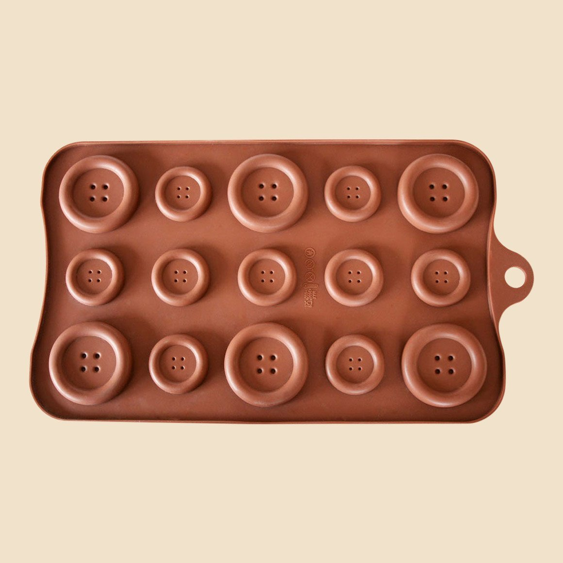 Giant Buttons Chocolate Mould