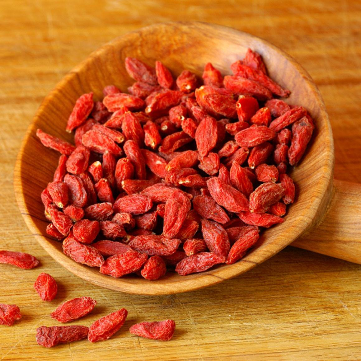 nutrient dense goji berries