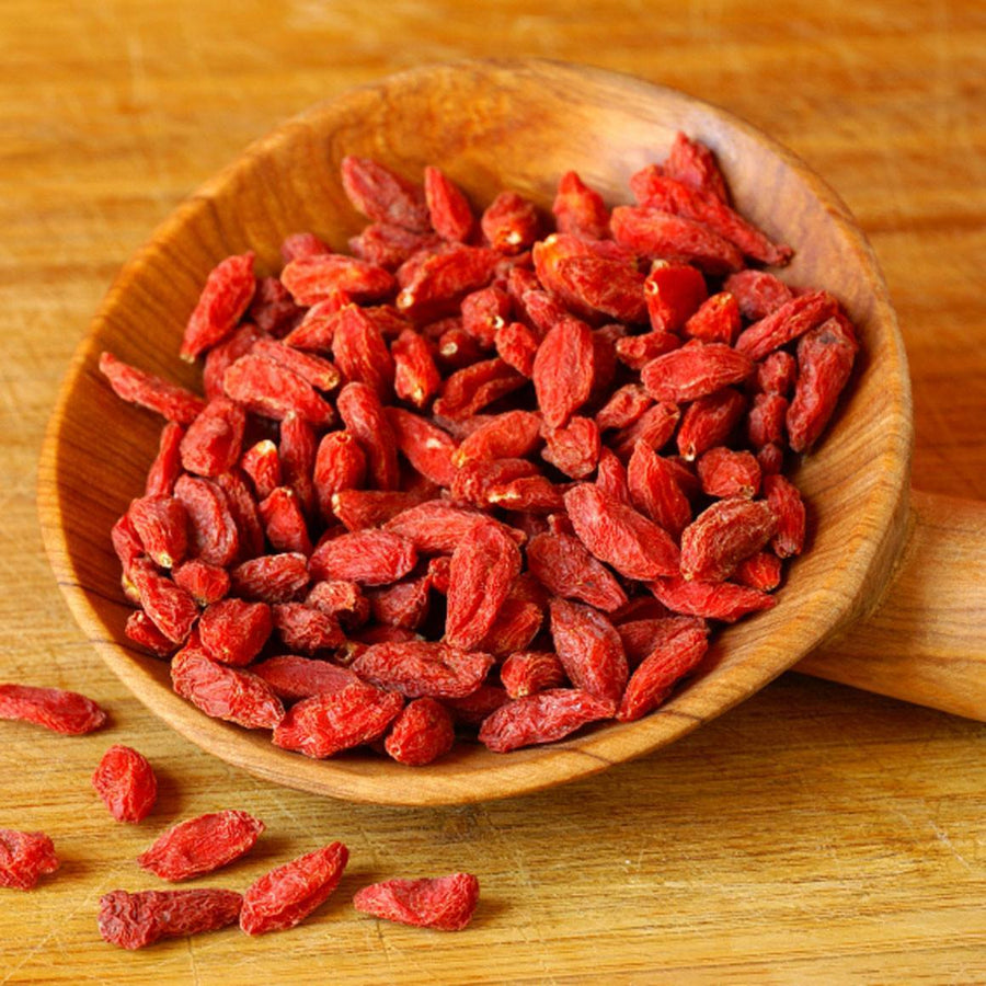 Goji berries, also known as wolfberries