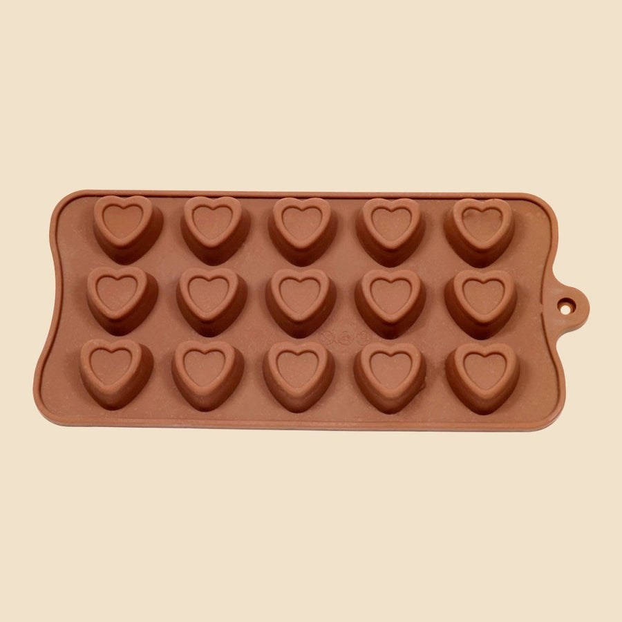 Indent Heart Valentine Chocolate Mould