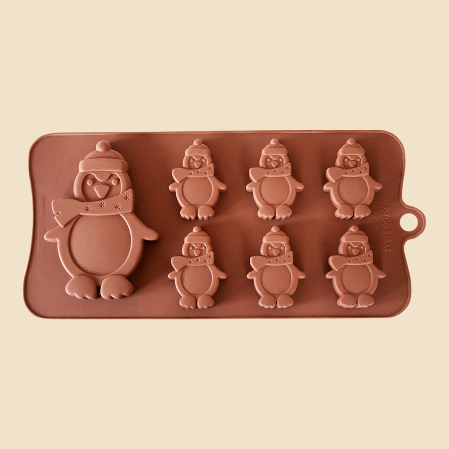 Penguins Chocolate Mould
