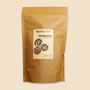 peruvian criollo raw cacao powder