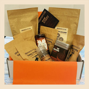 raw chocolate explorer hamper