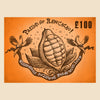 £100 raw chocolate gift card