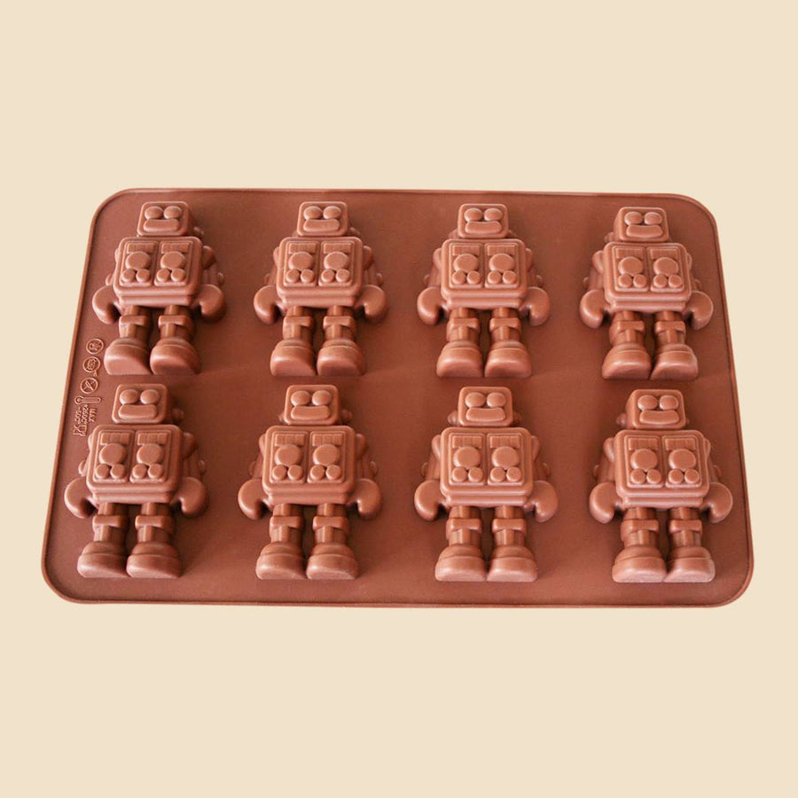 Robots Chocolate Mould