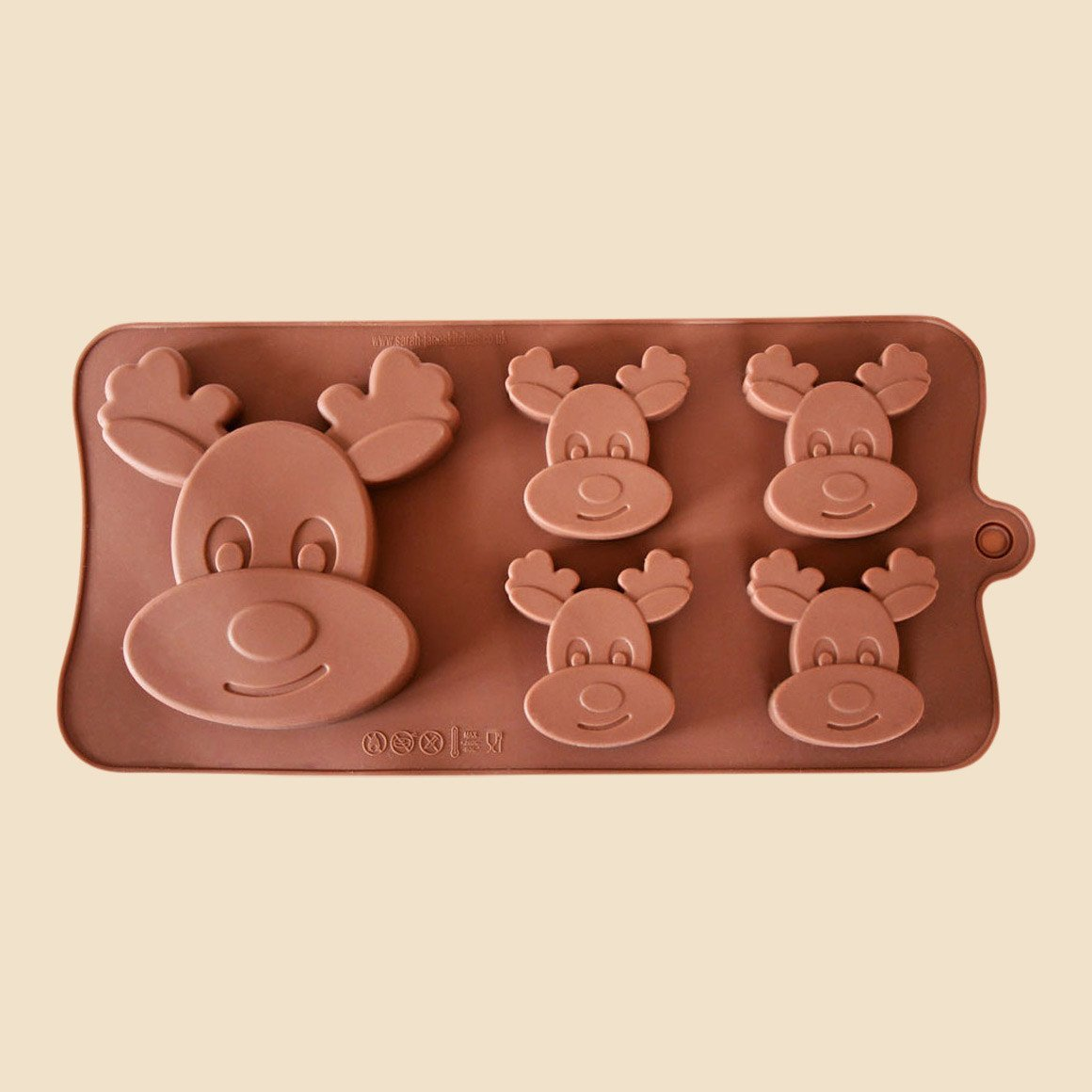 Rudolph Reindeer Chocolate Mould