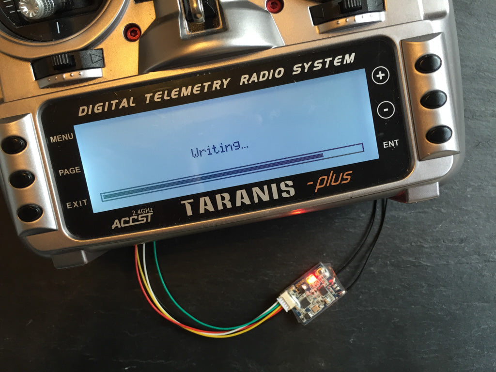 How To Flash The Firmware On A FrSky XSR Or X4R – Airjacker