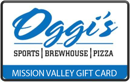 Oggi's Mission Valley $100 Gift Card