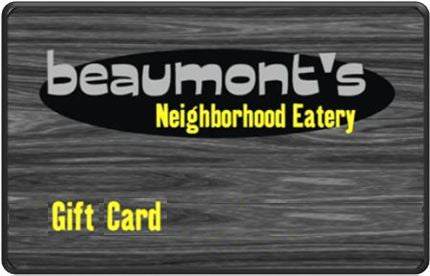 Beaumont's $50 Gift Card
