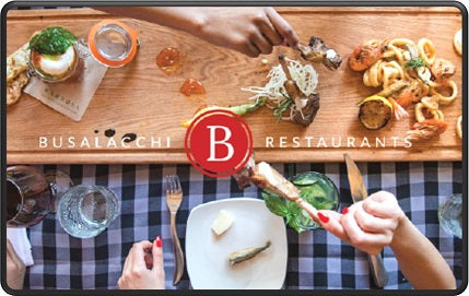 Busalacchi's $100 Gift Card