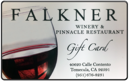 Falkner Winery $100 Gift Card
