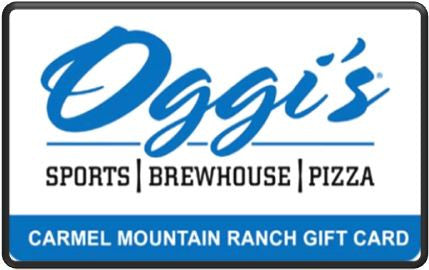 Oggi's Carmel Mountain Ranch $100 Gift Card