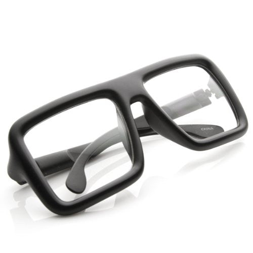 Clear Square Boss Glasses