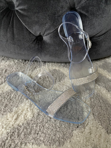 CR Clear Flat Sandal