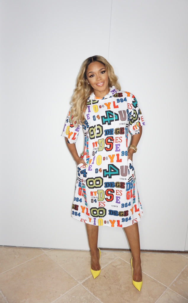 Just Figure It Out Hoodie Dress