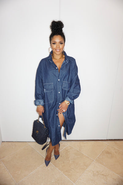 Big Boss Denim Jacket Dress
