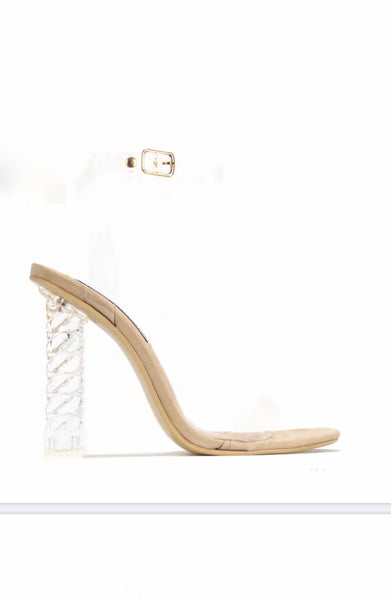 CR Nude & Twist Heels