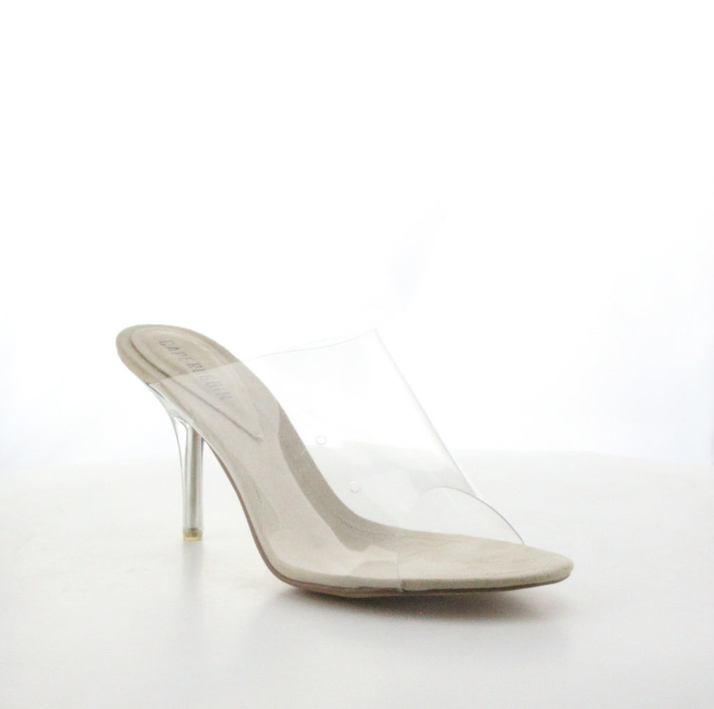 CR Clear Slide In Sandal
