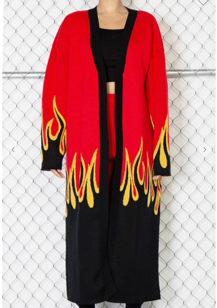 On Flame Cardigan