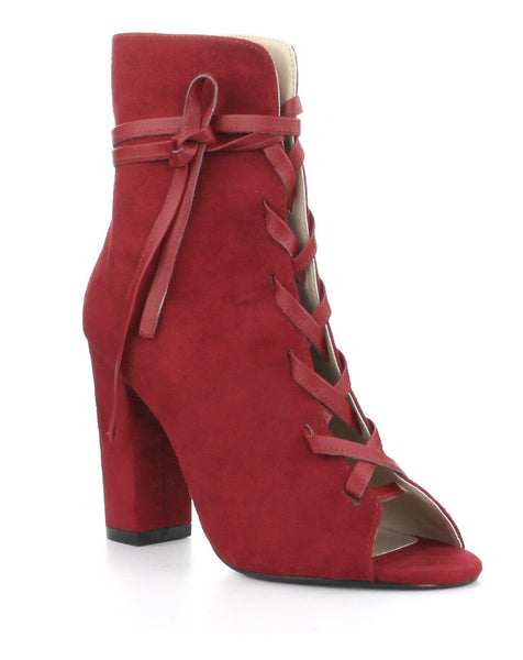 Tie Up Wrap Bootie
