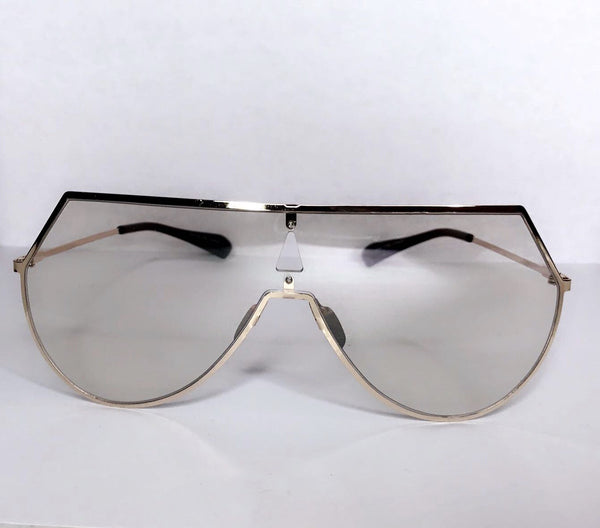 Clear Flat Top Glasses