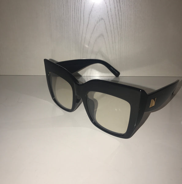 Black T/F Glasses