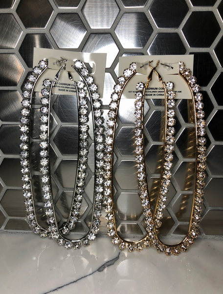 Super Long  Bling Earrings