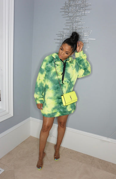 Big Splash  Hoodie Dress