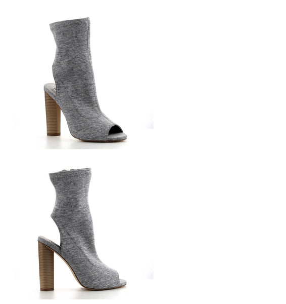 CR Gray Ankle Bootie