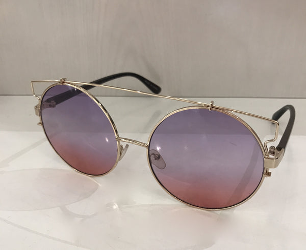 The Oval Bar Sunglasses