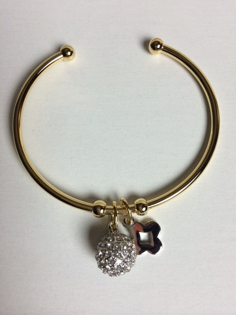 Crystal Ball Bangle