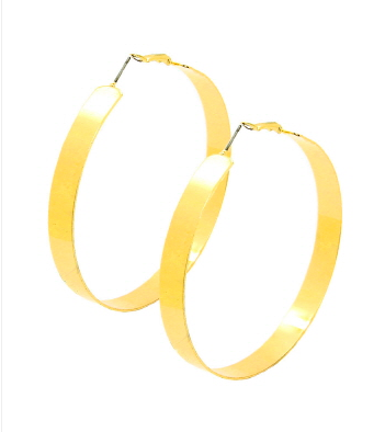 Just Gold Hoops