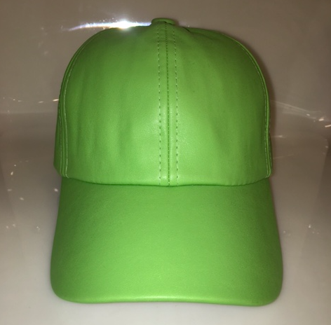 The Bright Green Cap