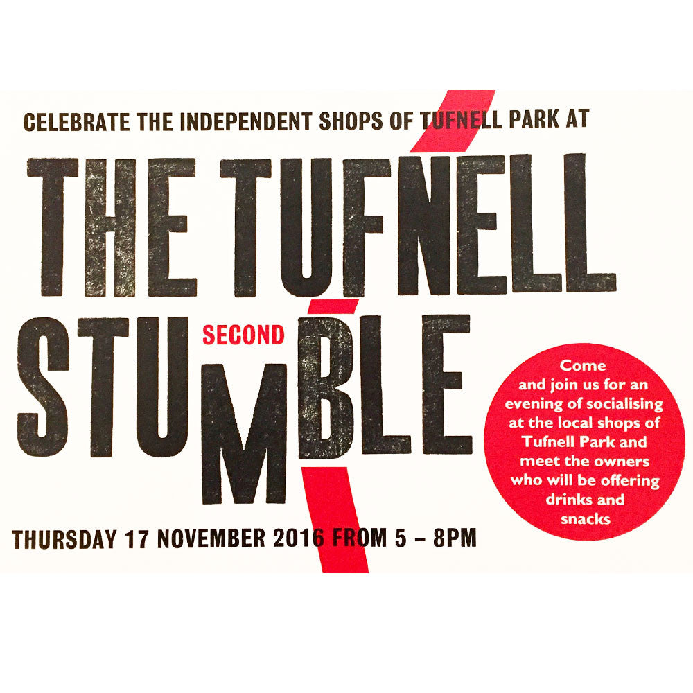 Join us at the second Tufnell Stumble