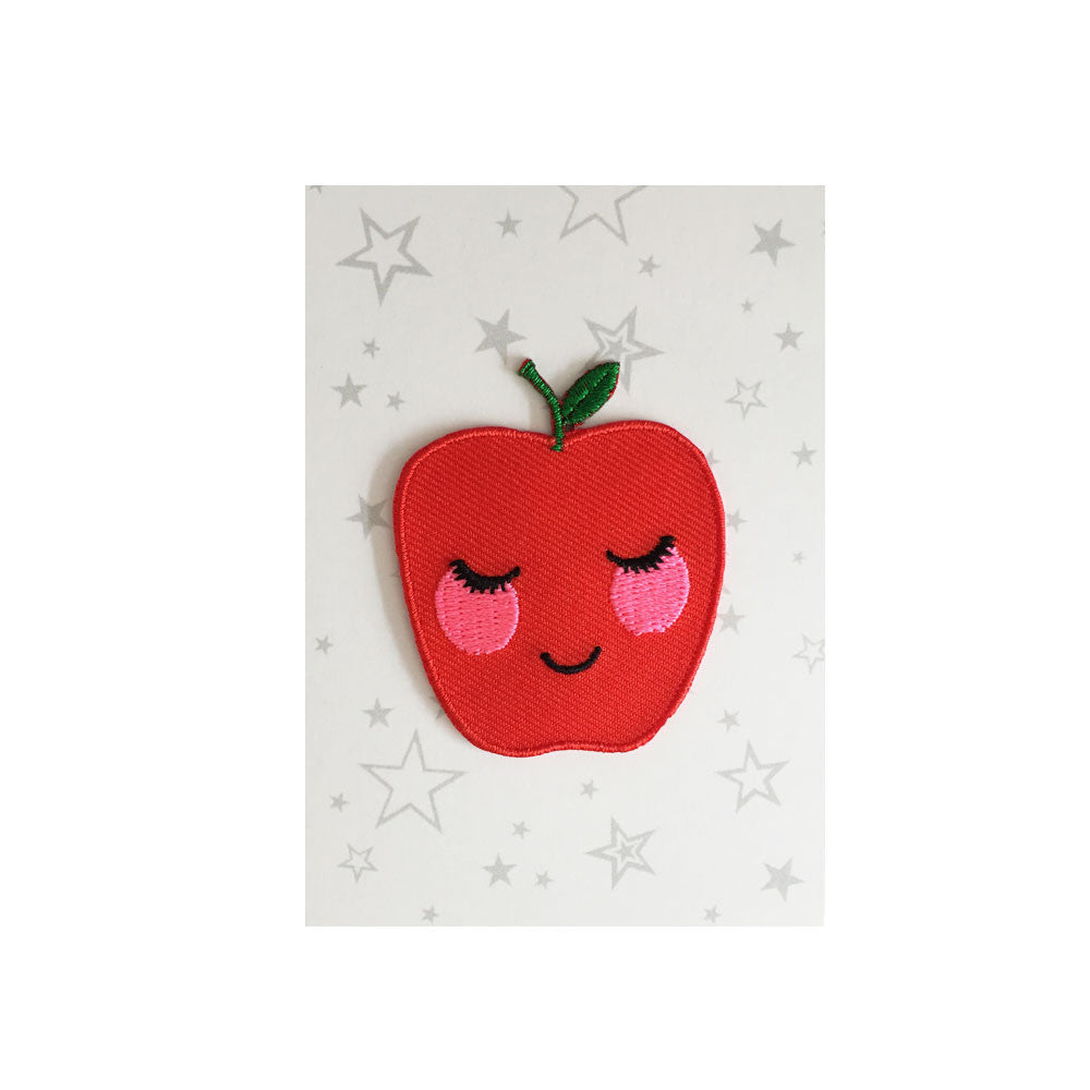 Iron on Patch- Apple
