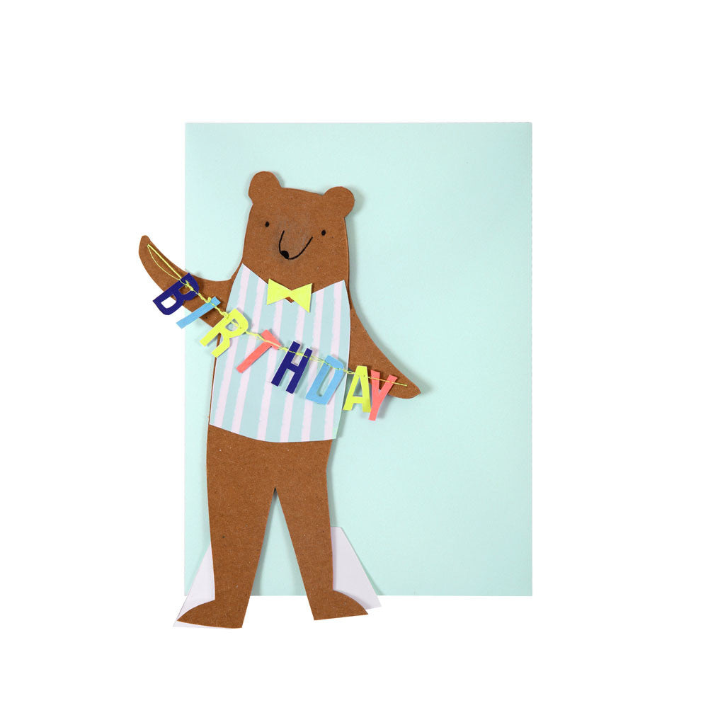 Bear birthday card - eenymeenyfinal