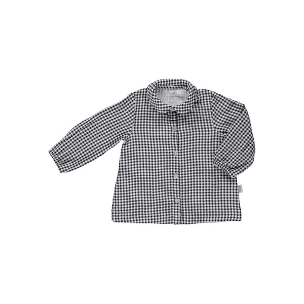 Organic Cotton Check Blouse