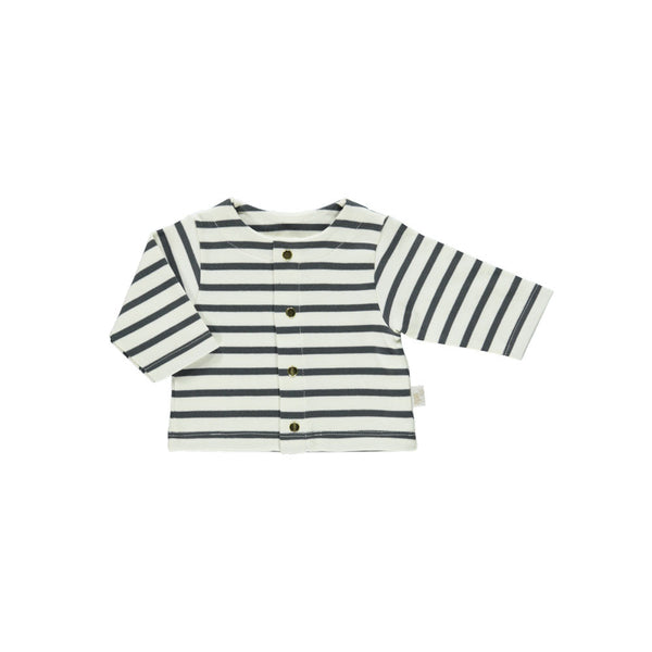 Organic Cotton Cardigan - Stripes
