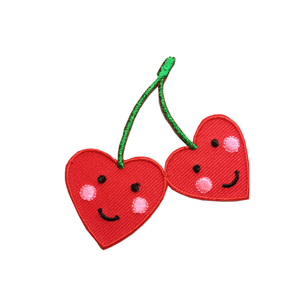 Iron on patch - cherries