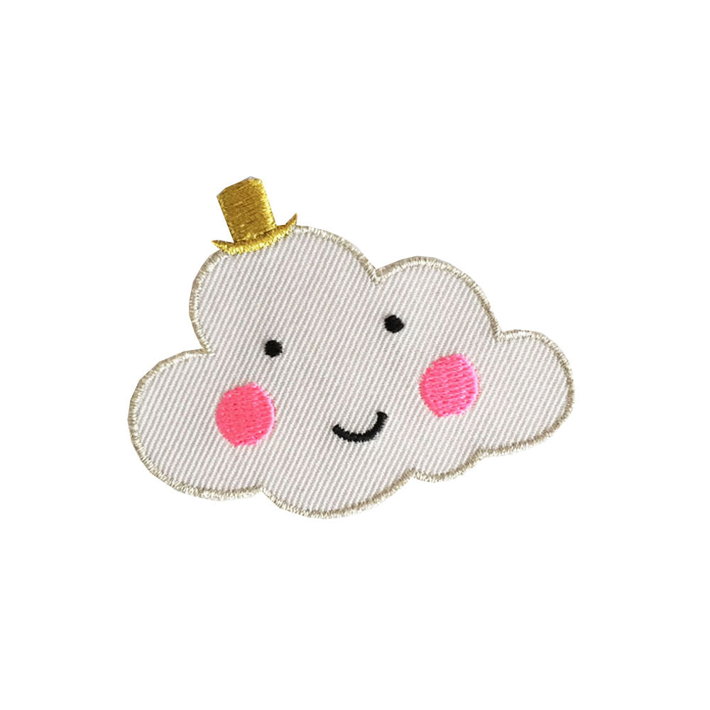 Iron on Patch- Cloud - eenymeeny kids