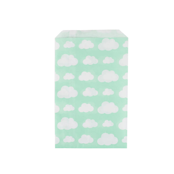 Pack of 10 party bags - clouds