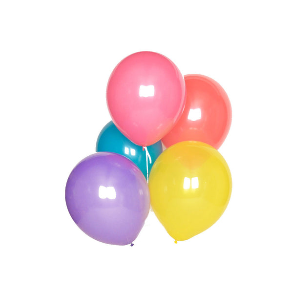 Pack of 10 Multicolour Balloons - eenymeeny kids