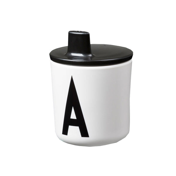 Design Letters Drink Lid - Black