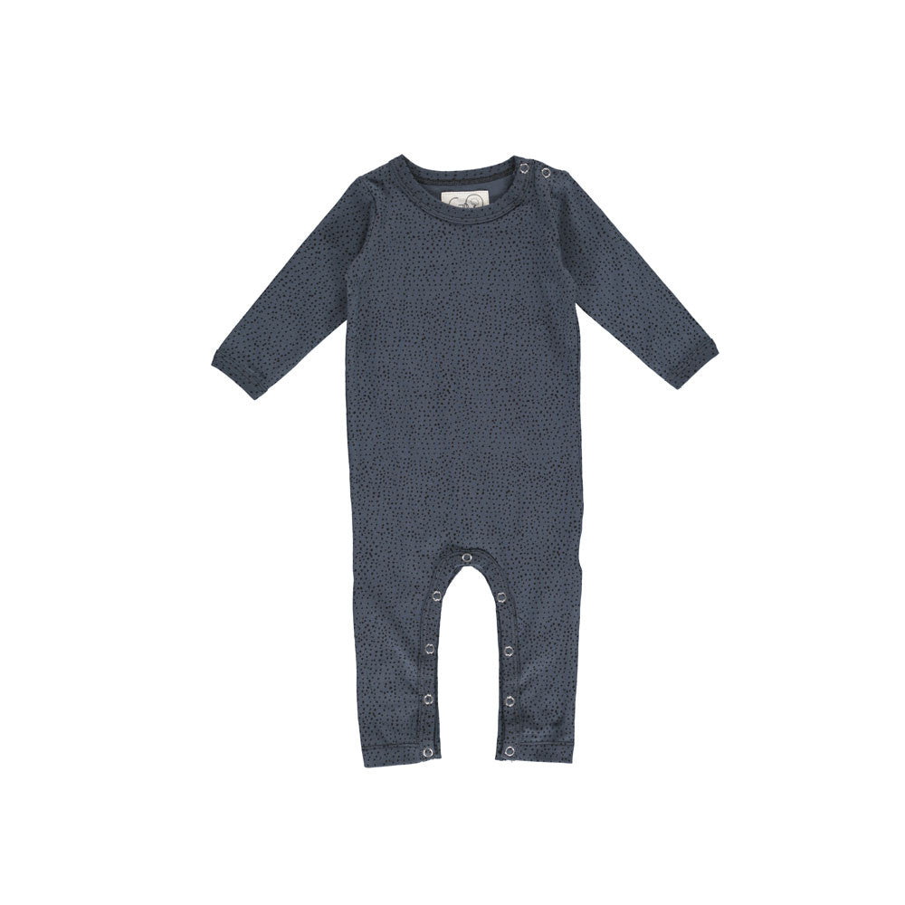 Dots Bodysuit - Dark Washed