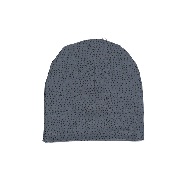 Dots Beanie Hat - Dark Washed